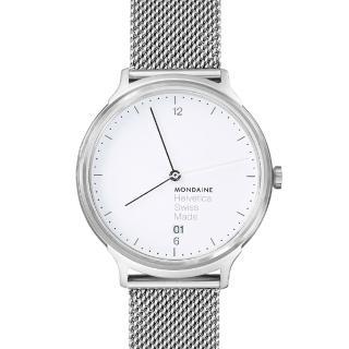 【MONDAINE瑞士國鐵】設計系列腕錶(米蘭帶/38mm)