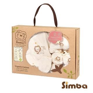 【小獅王辛巴】有機棉喜悅禮盒-春夏五件組(七分袖兔裝)