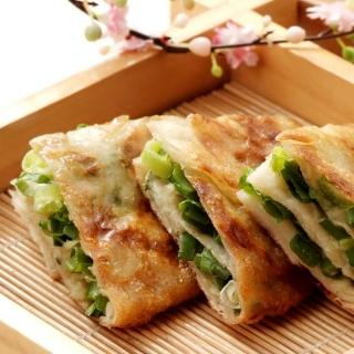 【鮮食家 799】阿福伯北方蔥油餅 750g 5片 包