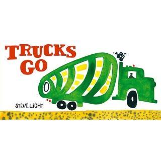 【Song Baby】Trucks Go! 大卡車開進來囉!(硬頁書)