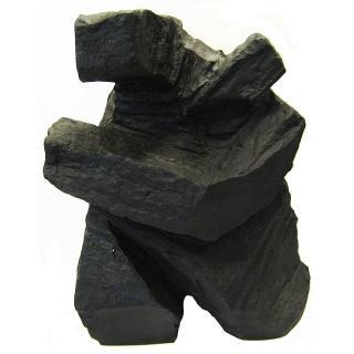 【開運陶源】*創意時尚歐風*墨銅色太極砂岩雕塑(大)