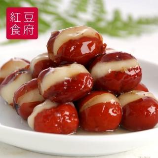 【鮮食家任選799】紅豆食府FC心太軟 含桂花醬(240g/盒)