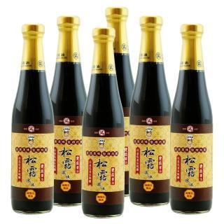 【大廚當家】百年瑞春手工非基改松露風味醬油超值禮盒組(3瓶+3瓶)