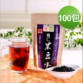 【台灣好品】天然有機青仁黑豆水-無咖啡因(100包組)/