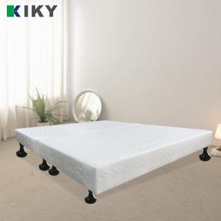 【KIKY】白色情人布質雙人加大6尺床底(白色)