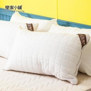 【戀家小舖】台灣製可水洗QQ枕頭(兩入)