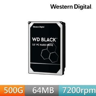 【WD 威騰】黑標 500GB 3.5吋SATA硬碟(WD5003AZEX)