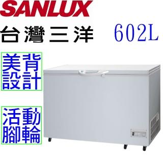 【台灣三洋 SANLUX】602公升冷凍櫃(SCF-602T)