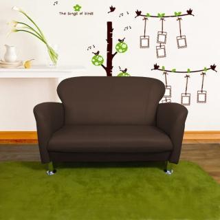 【時尚屋】摩登日式二人座鐵腳沙發(ZU5-3-2T)