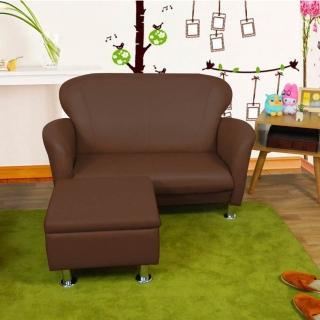 【時尚屋】摩登日式二人座L型鐵腳沙發(ZU5-3-2T+ZU5-3-4T)