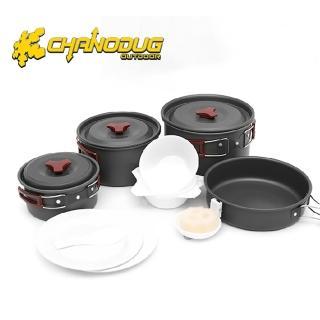 【韓國CHANODUG】5人份鋁合金餐具(17件組)