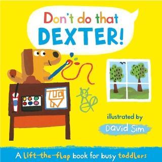 【Song Baby】Don't Do That!Dexter!德斯特!這樣不好喔!(精裝硬頁翻翻書)