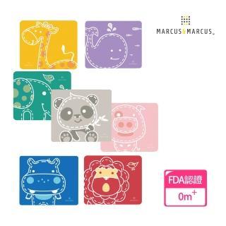 【MARCUS&MARCUS】動物樂園矽膠餐墊(多款繽紛任選)