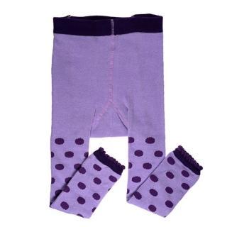 【美國 juDanzy】內搭褲襪_紫色點點(971)