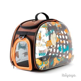 【IBIYAYA依比呀呀】透明膠囊寵物提包-WOOF(FC1220)