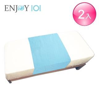 【ENJOY101】矽膠布防水保潔中單/看護墊/防尿墊(140x65cm*2件組)/