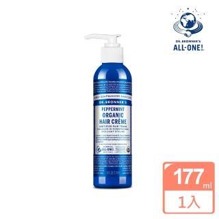 【Dr.Bronner's 布朗博士】薄荷免沖洗護髮乳(177ml/6oz)