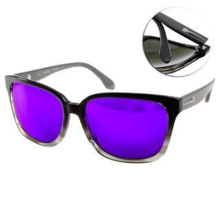 【Calvin Klein太陽眼鏡】簡約水銀鏡面款(漸層黑#CK4277SA 372)