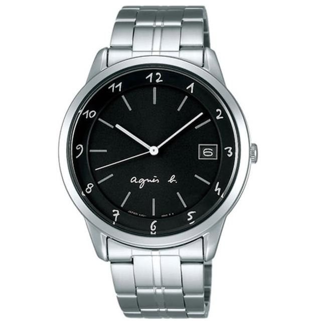 【agnes b.】簡約藝術時尚設計腕錶(FBRT983)