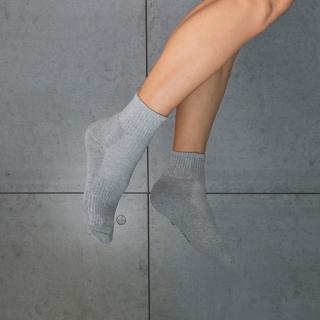 【aPure】除臭襪-多功吸濕排汗科技運動襪(灰)