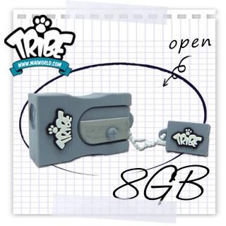 【義大利 TRIBE】我的鉛筆盒 8GB 隨身碟(削鉛筆機)