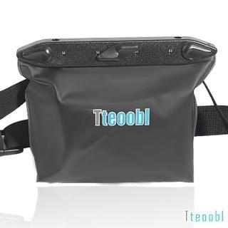 【Tteoobl】T-020B 耐壓20米立體防水腰包(黑色)