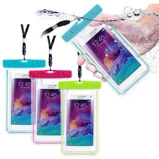【AISURE】適用6吋以下智慧手機運動螢光防水袋