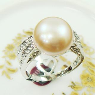 【蕾帝兒珠寶】祝福天然珍珠戒指