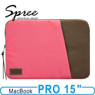 ~Spree~Match Macbook 15吋保護袋 覆盆桃