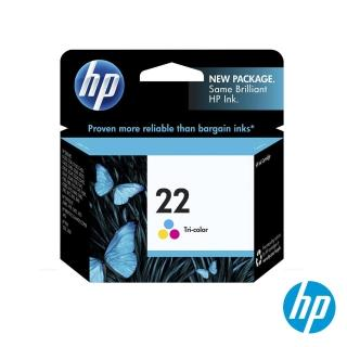 【HP】NO.22 原廠彩色墨水匣(C9352AA)