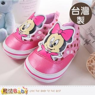 【魔法Baby】台灣製迪士尼米妮授權正版寶寶外出鞋(sh8626)