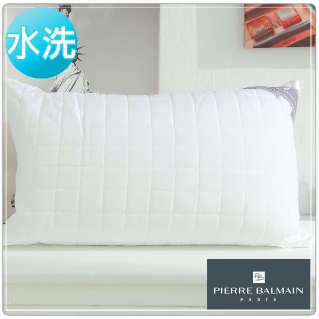 【PB皮爾帕門】超Q彈可水洗纖維舒適枕(1入)/