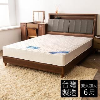 【時尚屋】雷克森冬夏兩用6尺加大雙人獨立筒彈簧床墊(GA8-14-6)
