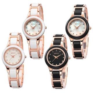 【WEIQIN威琴】時尚美麗大方女士腕錶(W4163)