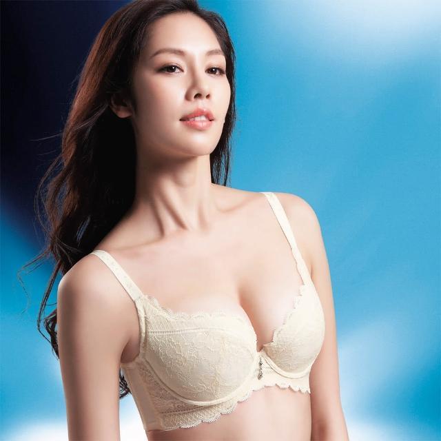 【摩奇X】挺魔力胸罩B-C罩杯內衣(珍珠白)