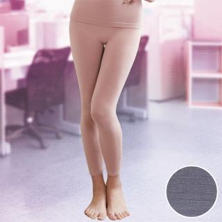 【華歌爾】MODAL一枚兩役M-L保暖隨型長褲(花紗灰)