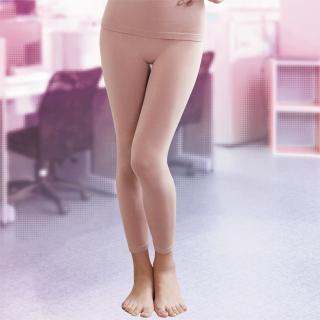 【華歌爾】MODAL一枚兩役M-LL保暖隨型長褲(花紗粉)