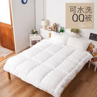 【戀家小舖】台灣製可水洗QQ冬被 單人尺寸(限量30組)
