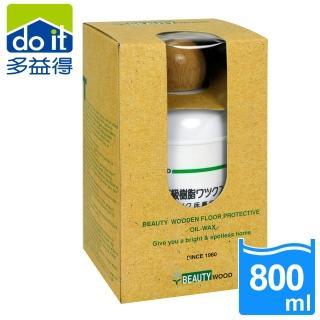 【多益得】木質地板防潮保護亮光精油-淺木(800ml)