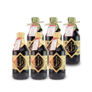 【黑豆桑】滷味醬香組(缸底醬油*3+厚黑金醬油*3 共6瓶)