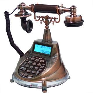 【WONDER】旺德仿古來電顯示電話機(WT-04)