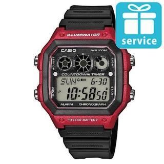 【CASIO】十年電池數位錶(AE-1300WH-4A)