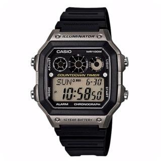 【CASIO】十年電池數位錶(AE-1300WH-8A)