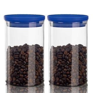 【SYG】刻度耐熱玻璃儲物罐1000cc(二入組)