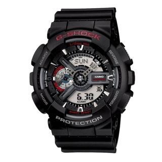 【CASIO】G-SHOCK 收藏未來潮流數位錶(GA-110-1A)