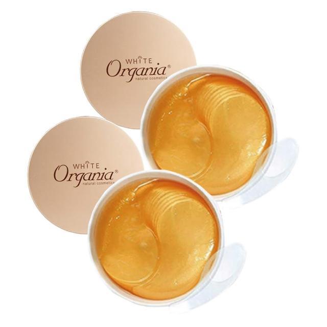 【Organia 歐格妮亞】黃金膠原全效眼膜60片+重點保養膜30片(買1送1)