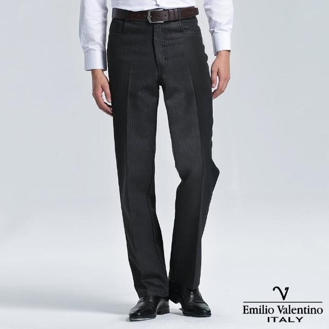 【Emilio Valentino 范倫提諾】仿牛仔休閒褲(黑)比價