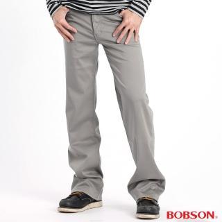 【BOBSON】男款植絨貼合布保暖直筒褲(1730-72)