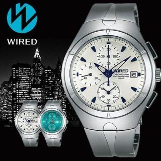 【WIRED】太空戰士復刻初代計時碼錶(41mm/7T92-X272S)