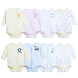 【JoyNa】日本熱銷保暖前開扣式空氣棉包屁衣(男/女款2件入)